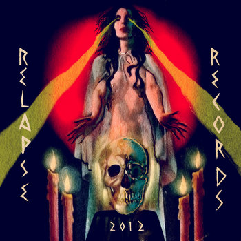 Relapse Records 2012 Sampler cover art