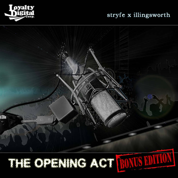 Stryfe x Illingsworth - THE OPENING ACT EP cover art