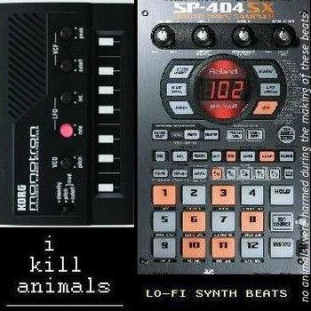 lo-fi synth beats cover art