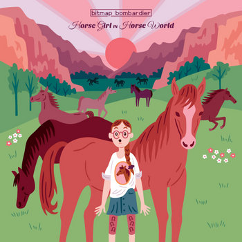 Horse Girl In Horse World cover art