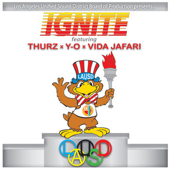 IGNITE ft. THURZ x Y-O x VIDA JAFARI cover art