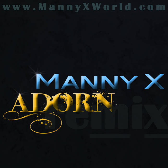 Adorn (remix) cover art