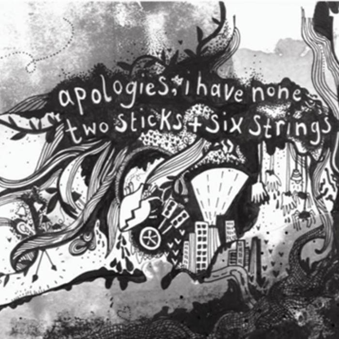 Two Sticks & Six Strings (2009) cover art