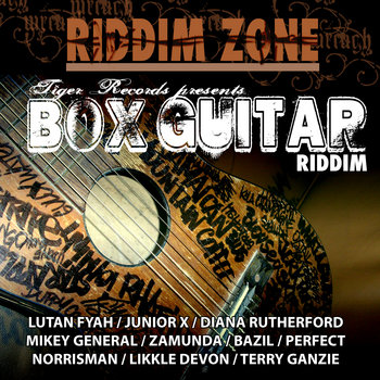 LP - BOX GUITAR RIDDIM cover art