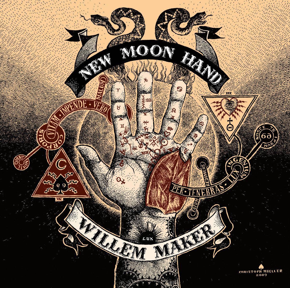 Willem Maker New Moon Hand New Moon Hand Cover Art