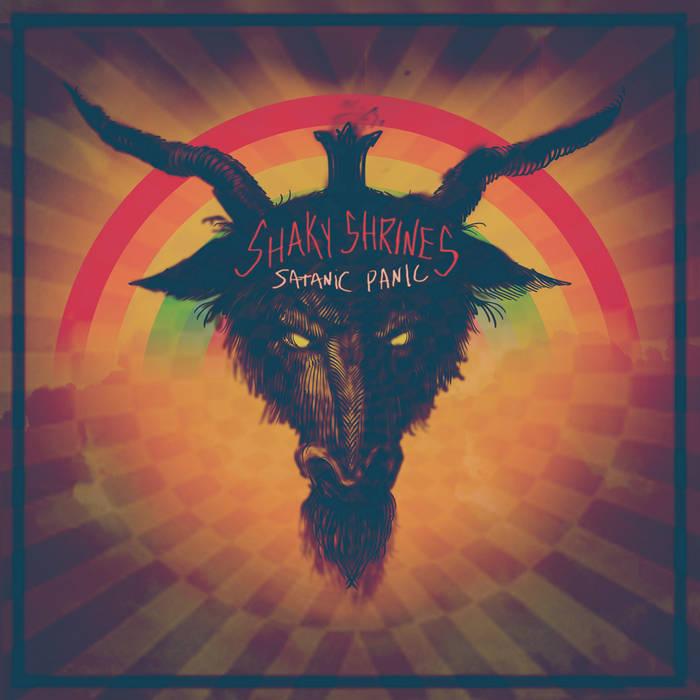 """SATANIC PANIC 7"""" cover art"""