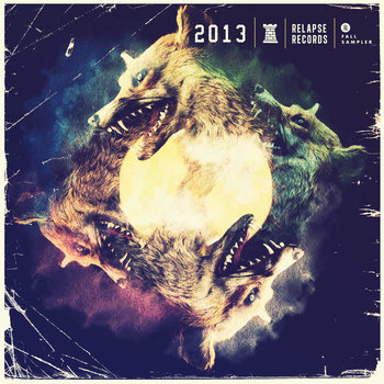 Relapse Sampler 2013 cover art