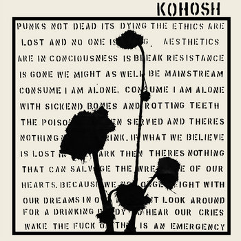 ADELIT@S // KOHOSH SPLIT LP cover art