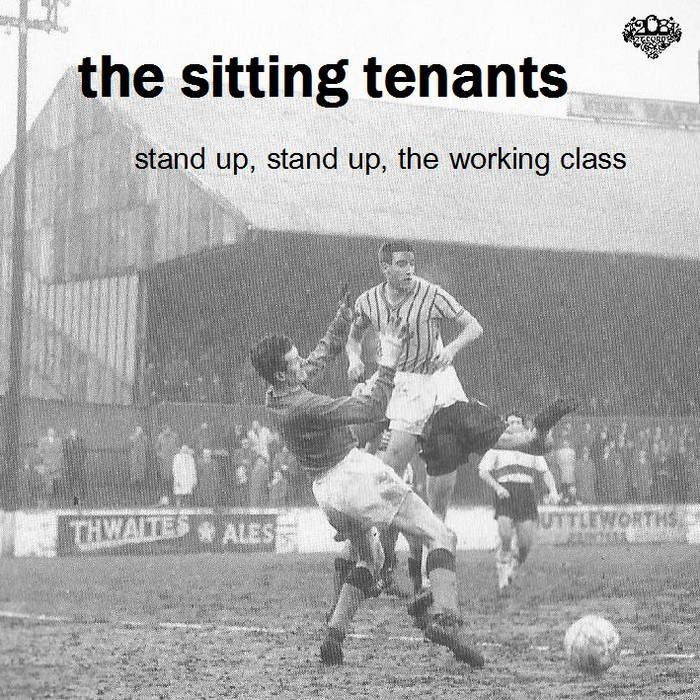 Stand up, stand up, the working class EP cover art