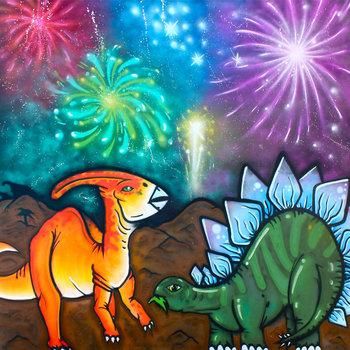 Dinosaurs & Fireworks cover art