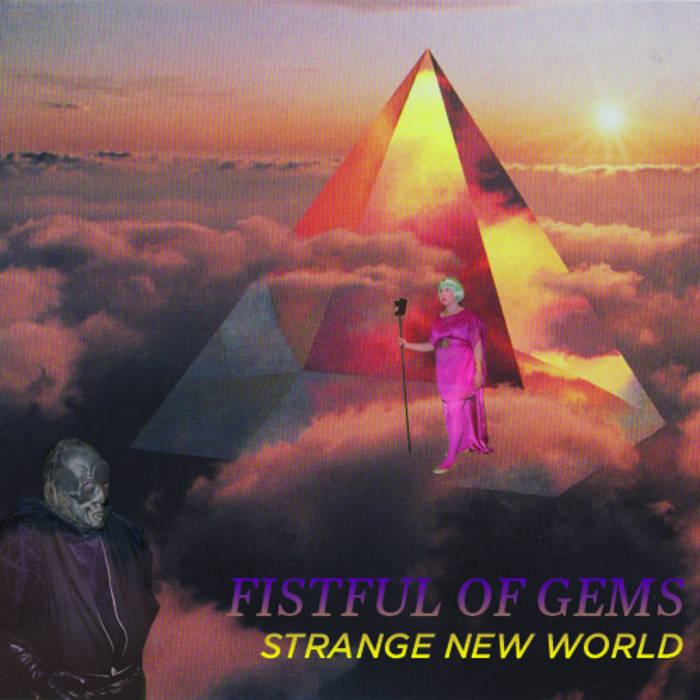 STRANGE NEW WORLD ep cover art
