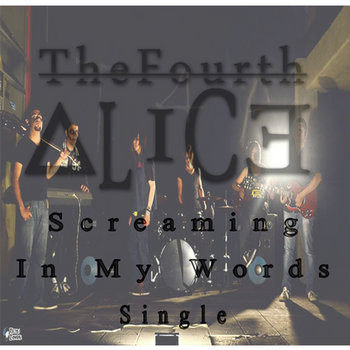 Screaming In My Words 2014 Single cover art