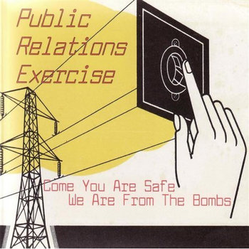 Come you are safe we are from the bombs cover art