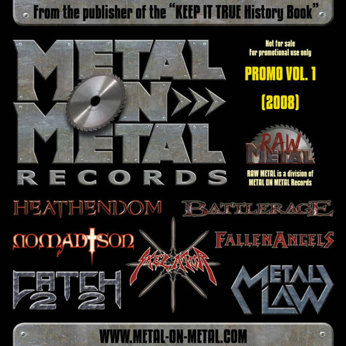 "VV.AA. ""Compendium Of Metal Vol. 1"" cover art"
