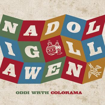 Cerdyn Nadolig cover art