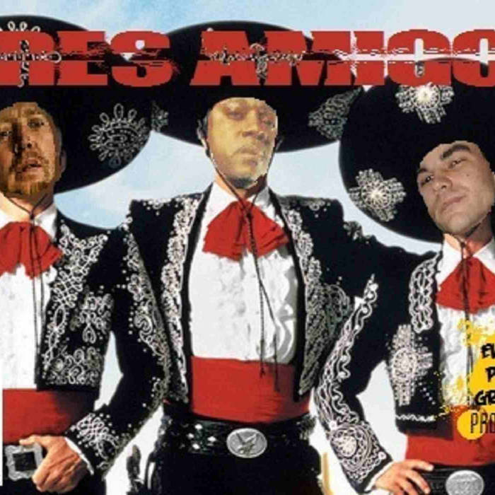 Tres Amigos Single cover art