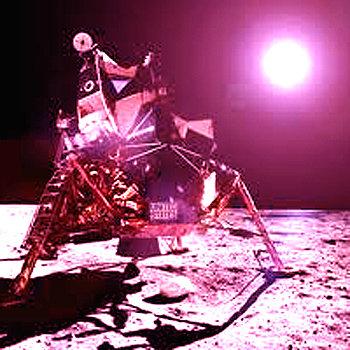The Lunar Module EP (GLIM009) cover art