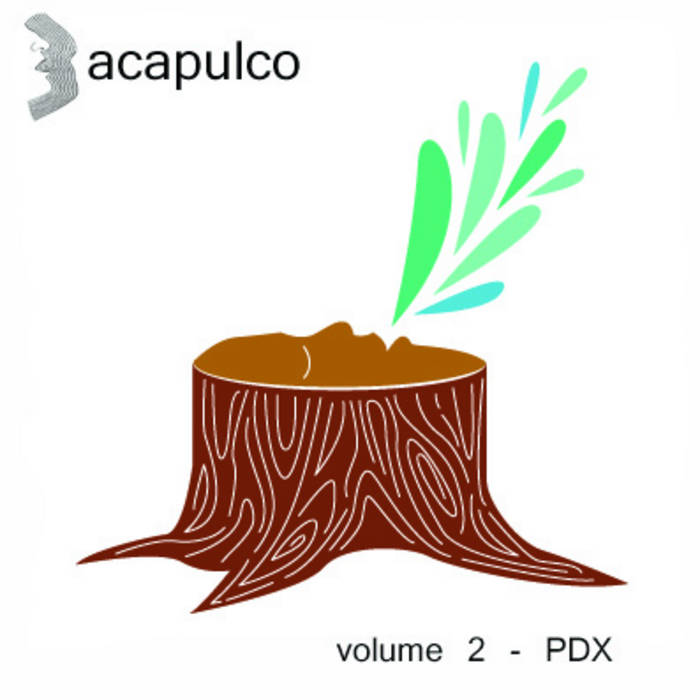 acapulco volume 2 - PDX cover art