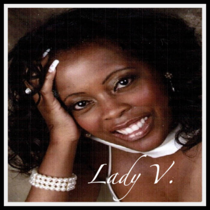 "Lady V. ""Don't Walk Away"" cover art"