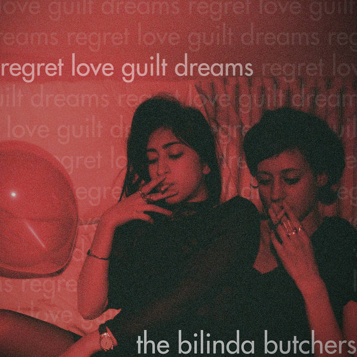 regret, love, guilt, dreams EP cover art