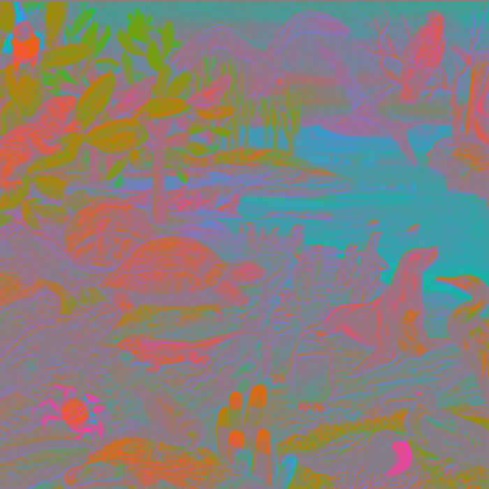 Galapagos (single) cover art