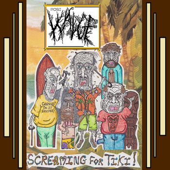 Wadge - Screaming For Tiki! [EP] (2014)