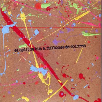 el split de buh y millones de colores cover art