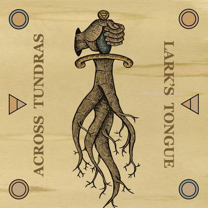 Across Tundras / Lark's Tongue Split cover art