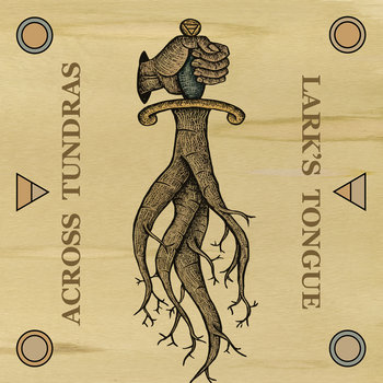 Across Tundras / Lark's Tongue Split cover art