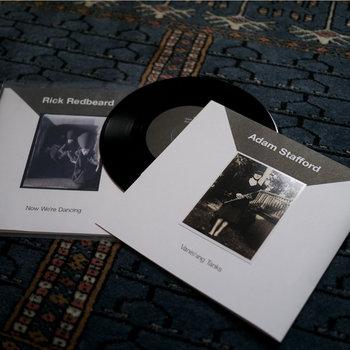 Rick Redbeard / Adam Stafford - Split single cover art