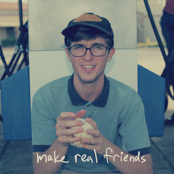 make real friends - EP cover art