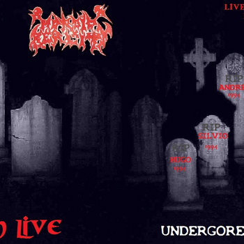 Death live (1994) cover art