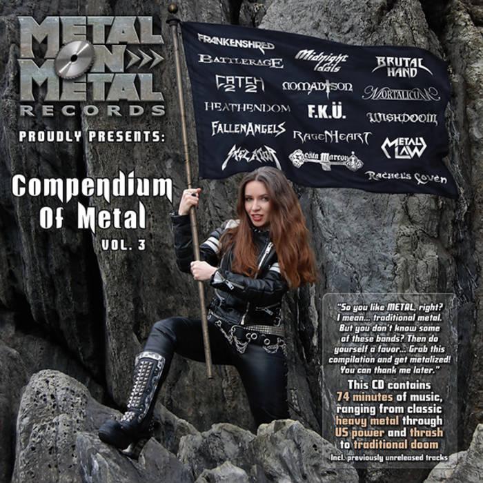 """VV.AA. """"Compendium Of Metal Vol. 3"""" cover art"""