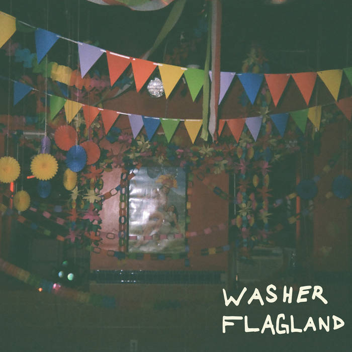 "Flagland/Washer Split 7"" cover art"