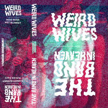 the band in Heaven / Weird Wives (Worker Bee Records split tape) cover art