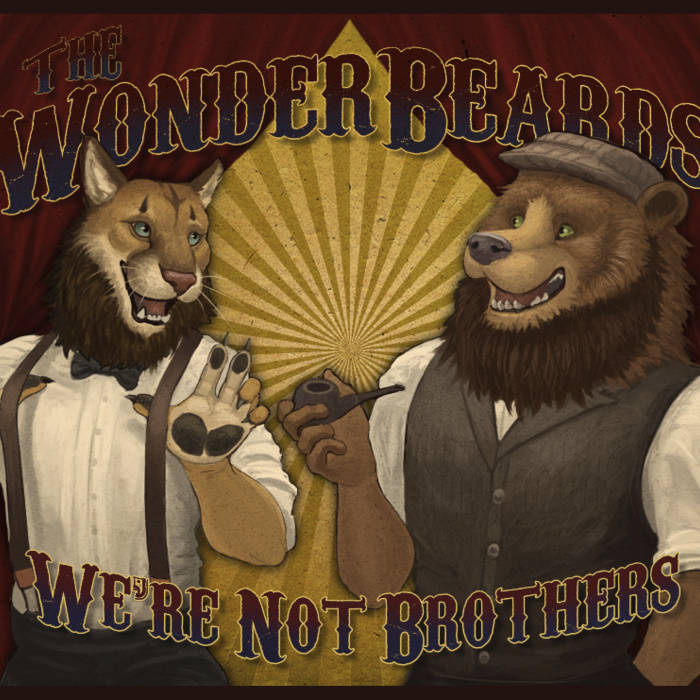 We're Not Brothers cover art