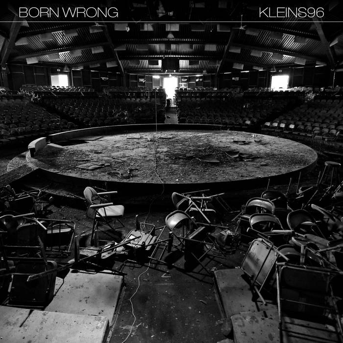 "Born Wrong/Kleins96 split 10"" cover art"