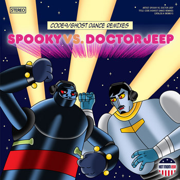 MOM015: Spooky vs. Doctor Jeep - Code 9 / Ghost Dance Remixes cover art