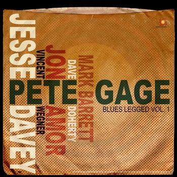 Blues Legged Vol.1 cover art