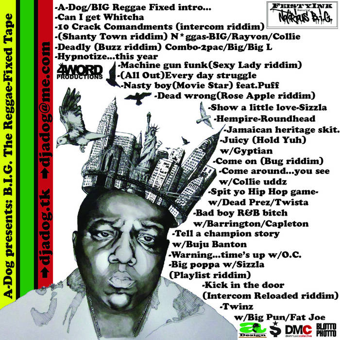 BIG: The Reggae Fixed Tape cover art
