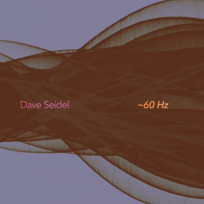Dave Seidel: ~60 Hz cover art