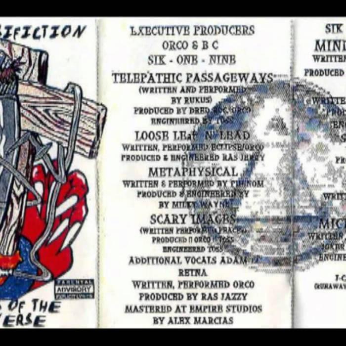 Micro-Crusifiction (Original Cassette Tape Series 1994) cover art