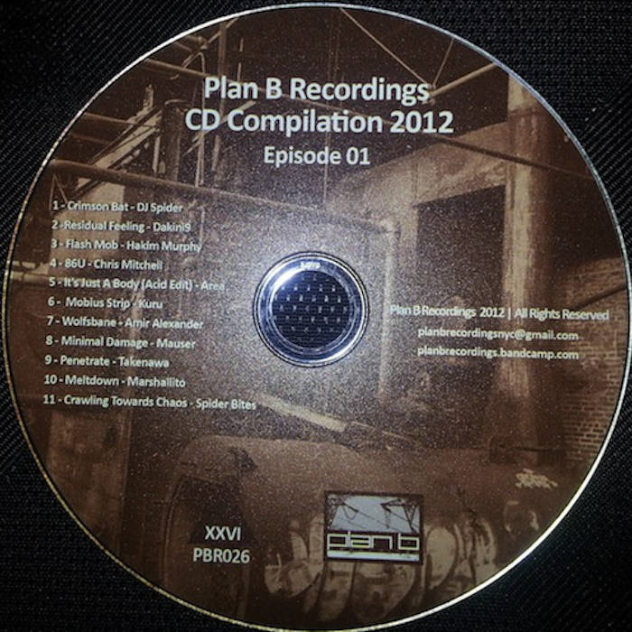 """Plan B Recordings CD Compilation 2012, Episode 01"" (CD SOLD OUT, digital now available)) cover art"