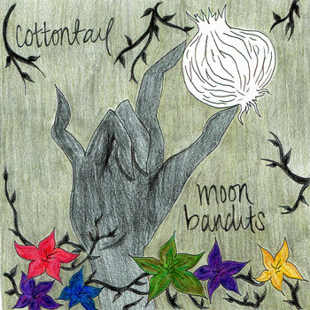 Cottontail & Moon Bandits split cover art