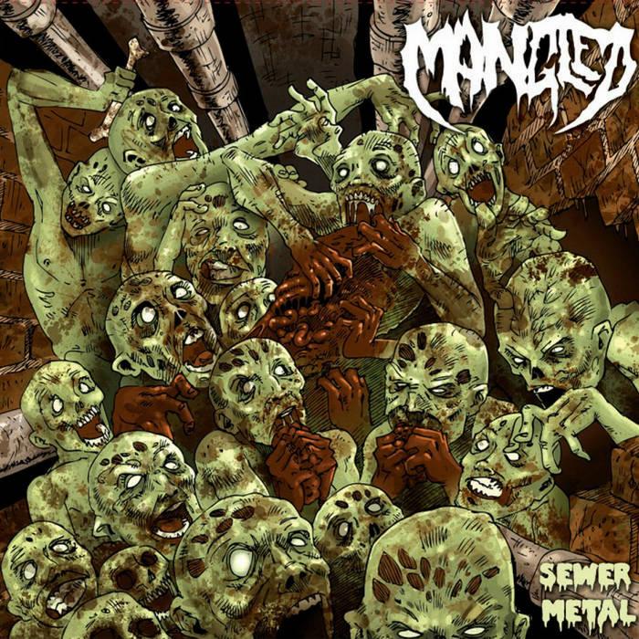 "Sewer Metal 7"" cover art"