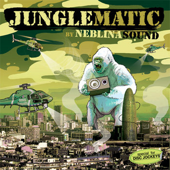 Junglematic Ep cover art