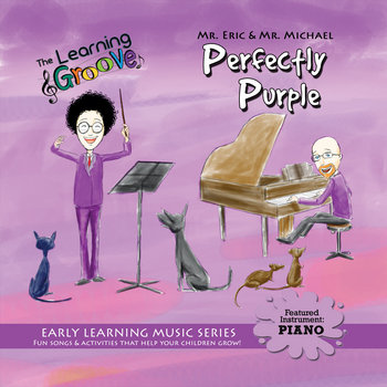 Perfectly Purple from The Learning Groove cover art