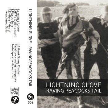 Lightning Glove - Raving Peacocks Tail cover art
