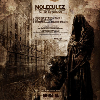 Moleculez ft. Mental Wreckage & The Relic - Calling The Shadows cover art
