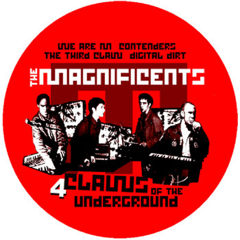 4 Claws Of The Underground EP cover art